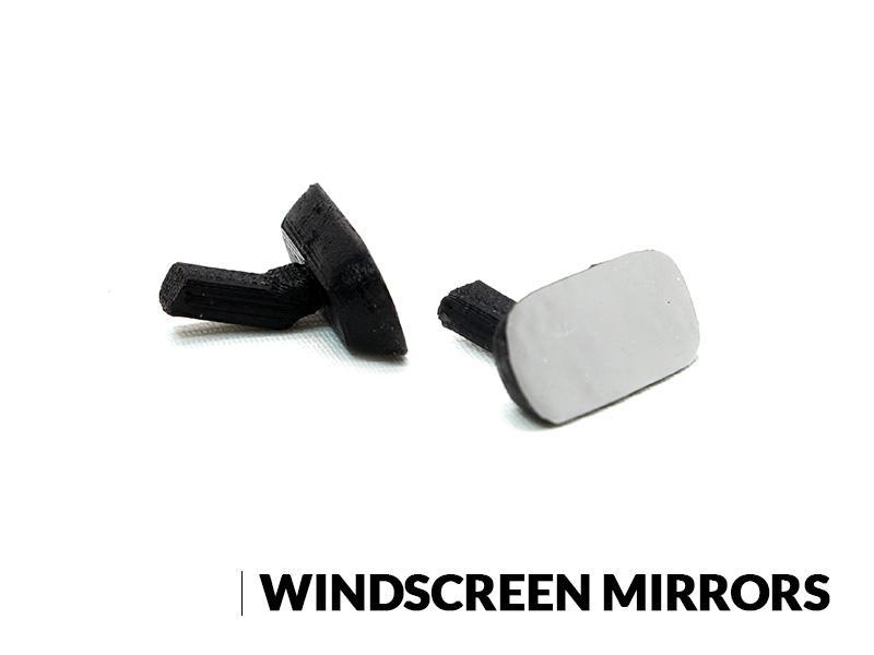 SRC Windscreen Mirrors